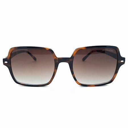 Óculos de Sol Atitude AT5449 G21 - 55 - Marrom