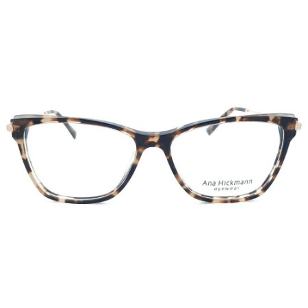 Armação de Óculos Ana Hickmann AH6428 H02 - 55 - Marrom