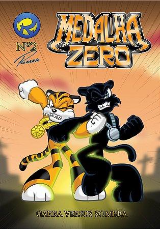 Medalha Zero Nº 2 - Garra versus Sombra - história em quadrinhos