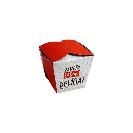 EMBALAGEM MULTI USO BOX GRANDE MUITO SABOR - 100 UNIDADES
