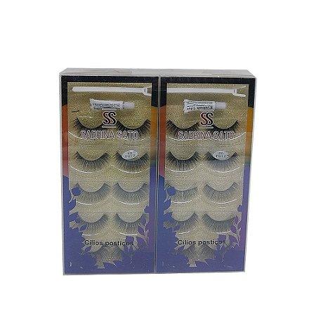 Kit de Cílios Postiços 5D-F012 Sabrina Sato SS-1310 – Box c/ 12 unid