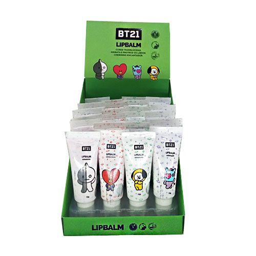 Lip Balm BT21 BT11 - Box c/ 24 unid