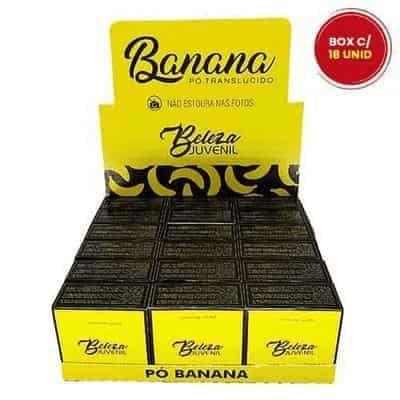 Pó Banana Beleza Juvenil - Box c/ 18 unid