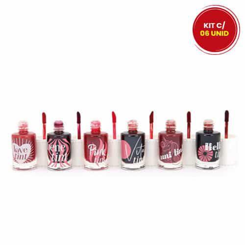 Lip Tint Febella BM4016 - Kit c/ 06 unid