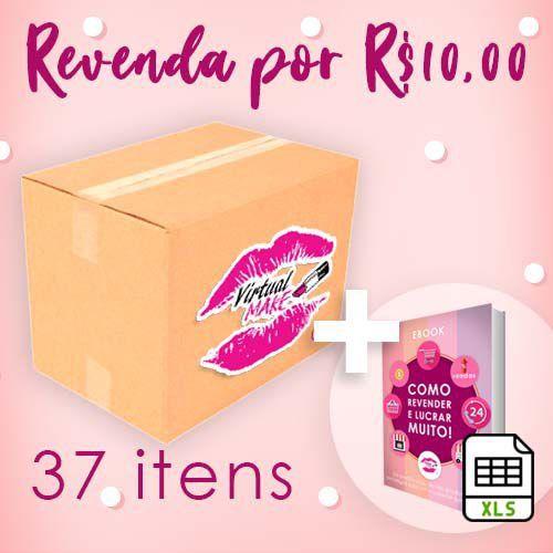 Kit de Maquiagem 37 Itens - Demonstração