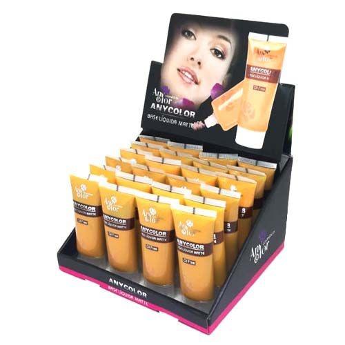 Base Liquida Matte Oil Free Any Color 1224 - Box c/ 24 unid