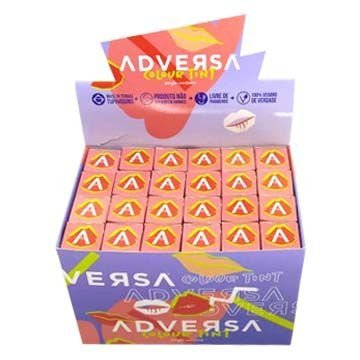 Batom Líquido Colour Tint Adversa AD307 - Box c/ 24 unid