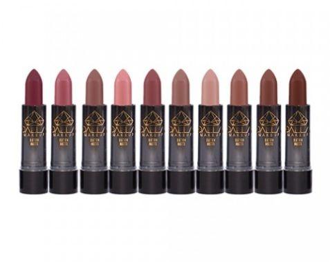 Batom Matte Elogio Tons Nude Dalla Make up DL-ELO - Kit c/ 10 unid