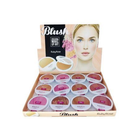 Blush Ruby Rose HB-6104 - Box c/ 36 unid