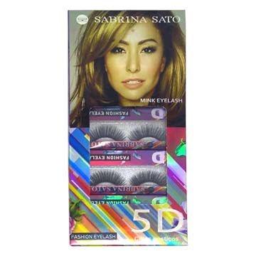 Cílios Postiços 5D-10 Sabrina Sato SS-710 – Box c/ 10 unid