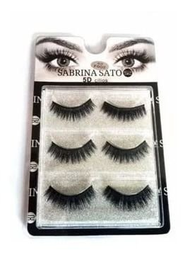 Cílios Postiços 5D-F002 Sabrina Sato - SS-307 - Caixa c/ 03 pares