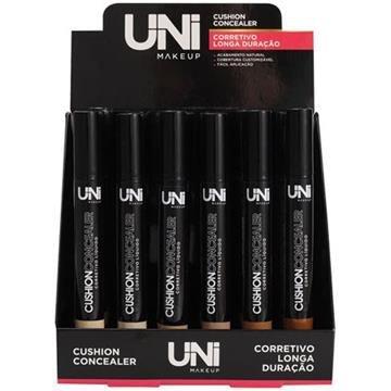Corretivo Líquido Cushion Concealer Uni Makeup UN-CO175DS – Box c/ 24 unid