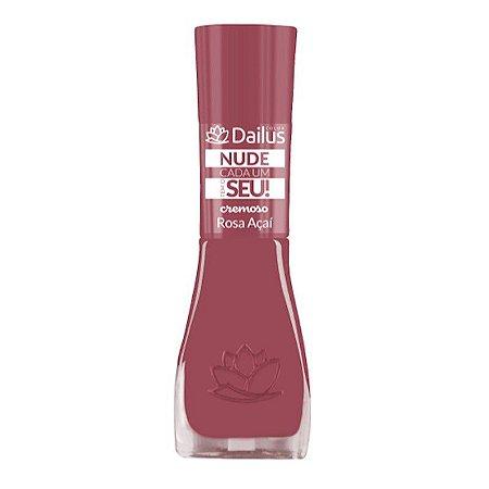 Esmalte Dailus Coleção Nude Cor Rosa Açaí