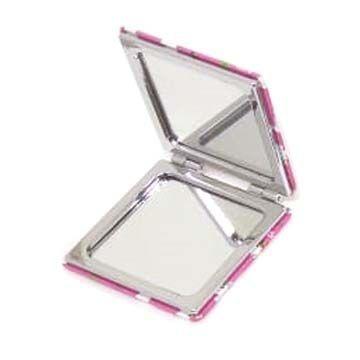 Espelho Portátil de Bolsa Estampado Interponte HJ70709