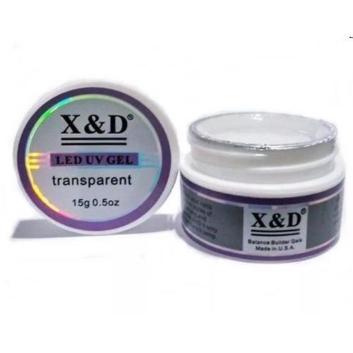 Gel de Unha Led UV X & D Transparente
