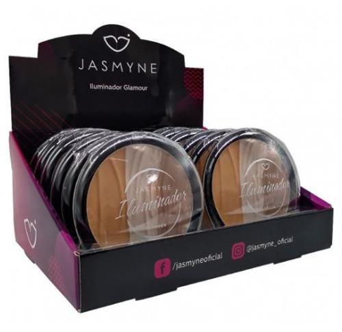 Iluminador Glamour Jasmyne JS0303 - Box c/ 12 unid