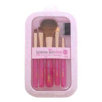Kit de Pincéis Para Maquiagem Infantil Sabrina Sato SS-741