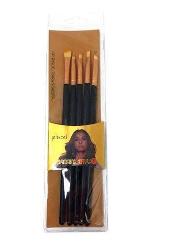 Kit de Pincéis para Sombra Sabrina Sato SS-064/SS-065