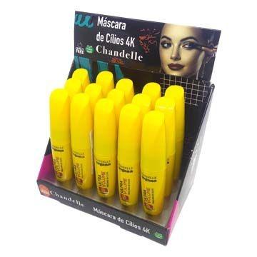Máscara de Cílios Vegana 4K Ultra Volume Chandelle - Box c/ 15 unid