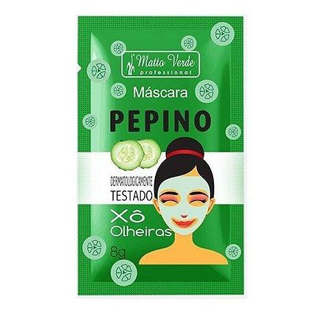 Máscara de Pepino Matto Verde Xô Olheiras- Kit c/ 10 unid