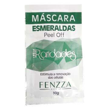 Máscara Esmeraldas Peel Off Linha Raridades Fenzza FZ38012 – Pcte c/ 10 unid