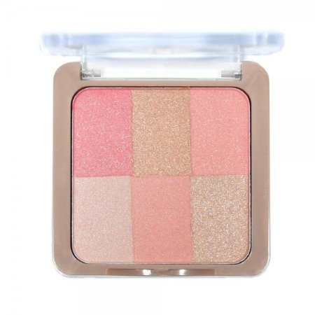 Paleta de Blush Soft Touch 6 em 1 Ruby Rose HB-6109-3