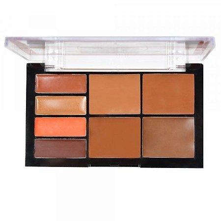 Paleta de Corretivo Colorido The Skill of Beauty Ruby Rose HB-8097-5