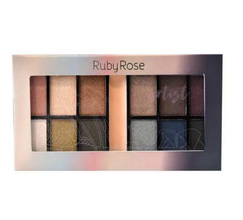 Paleta de Sombra Artist Ruby Rose HB-9985- Cor 7