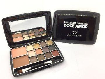 Paleta De Sombras Doce Amor Jasmyne JS0802 - kit c/ 06 unid