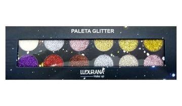 Paleta de Sombras Glitter Ludurana M00075