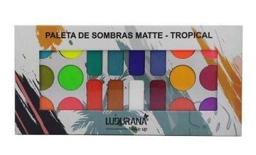 Paleta de Sombras Matte Tropical Ludurana M00038