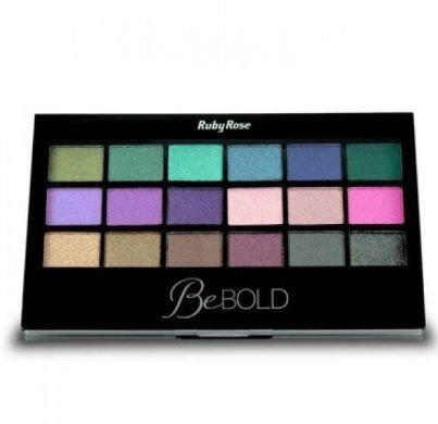 Paleta de Sombras + Primer Be Bold Ruby Rose HB-9919