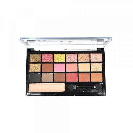 Paleta de Sombras + Primer Ruby Rose Be Fabulous HB-9931