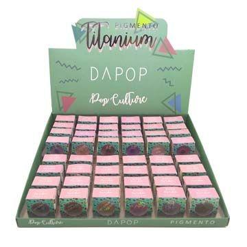 Pigmento para os Olhos Pop Culture Dapop DP2035– Box c/ 48 unid