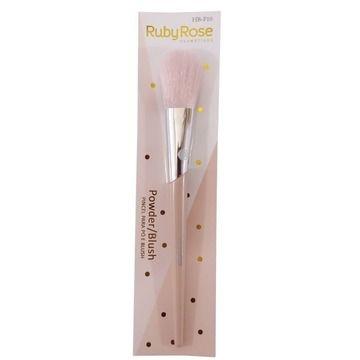 Pincel para Pó e Blush Powder Ruby Rose HB-F10