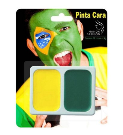 Pinta Cara Copa do Mundo Nanda Fashion NBX-NPC