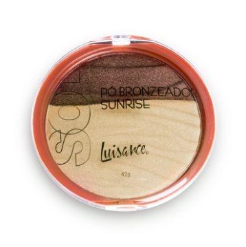 Pó Bronzeador Sunrise Luisance L3018