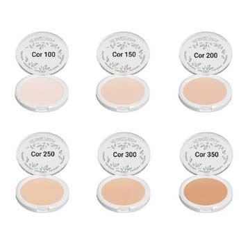 Pó Facial Compacto Velvety Cover HD Adversa AD114-A – Kit c/ 06 unid