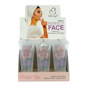 Sabonete Demaquilante Pós Maquiagem Perfect Face Belle Angel – Box c/ 12 unid