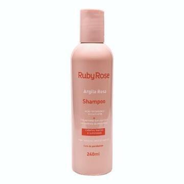 Shampoo Argila Rosa Ruby Rose HB-800