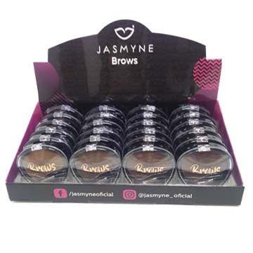Sombra para Sobrancelhas Jasmyne JS06027 - Box/24 unid