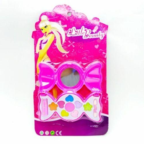 Brinquedo Infantil Kit Maquiagem p/ Boneca Little Beauty Bombom BAR-70777M