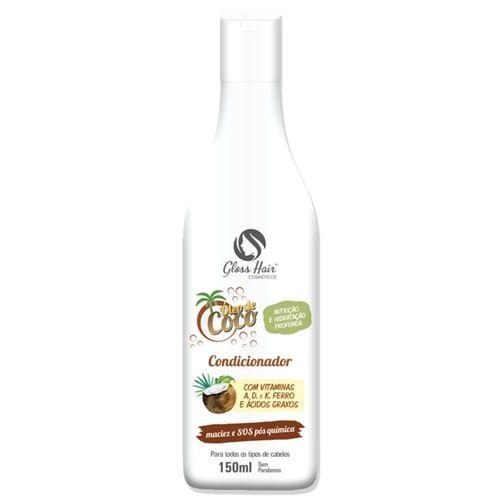 Condicionador Óleo de Coco Gloss Hair