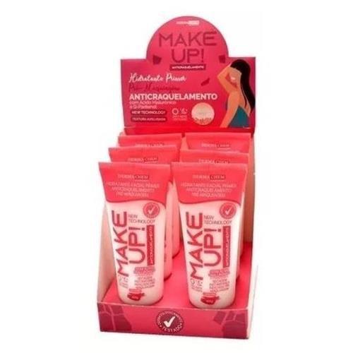 Hidratante Facial Primer Anticraquelamento Pré-Maquiagem Make Up Dermachem – Caixa c/ 06 unid