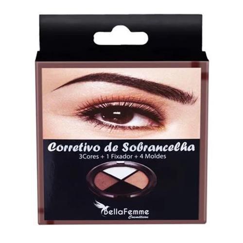 Kit Corretivo para Sobrancelhas Bella Femme BF10043 – Kit c/ 06 unid