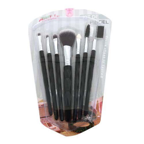 Kit de Pincéis para Maquiagem Mandala JD-2243 – Kit c/ 06 unid