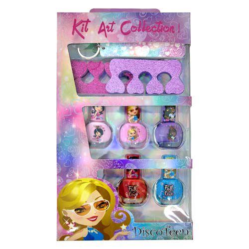 Kit Manicure Infantil Disco Teen HB96758