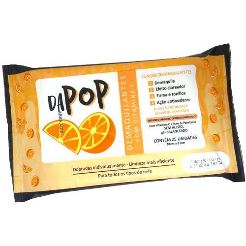 Lenço Demaquilante com Vitamina C Dapop DP2020