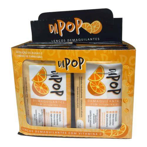 Lenço Demaquilante com Vitamina C Dapop DP2020 - Box c/ 12 unid