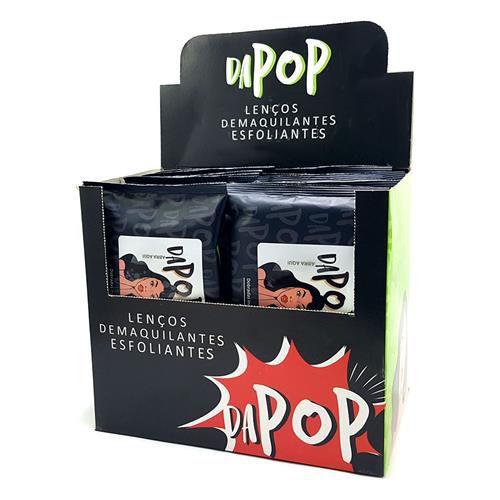 Lenço Demaquilante Esfoliante Dapop PB2001 – Box c/ 12 unid